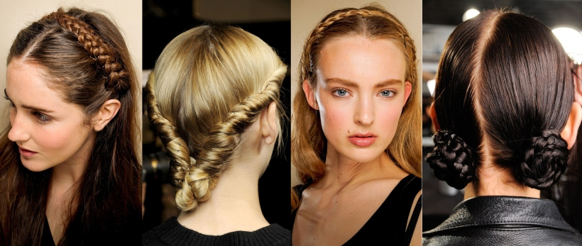 braids on runway