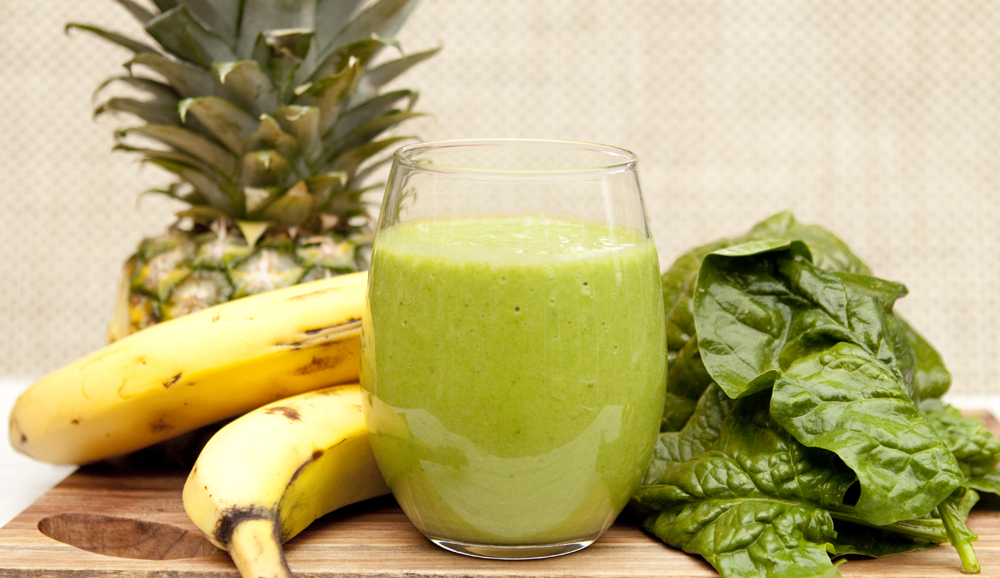 GREEN CLEANSE DAY#6: PINEAPPLE SPINACH