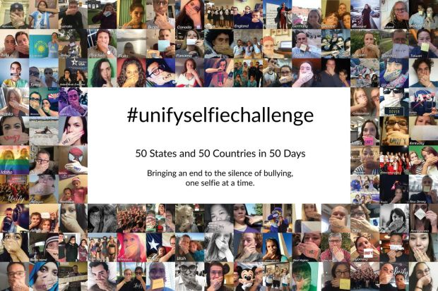 uNIFY BULLYING SELFIE CHALLENGE PIC 1